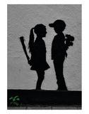 War Children Affiche par  Banksy