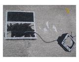 Out the window Plakat av  Banksy