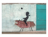 Gris Posters av  Banksy