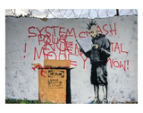 System Crash Posters by  Banksy