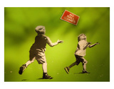 No Ball Games Posters by  Banksy