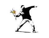 Flower Chucker Poster von  Banksy