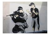 Boo! Giclee-trykk av  Banksy