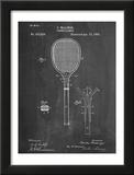 Tennis Racket Patent Pôsters