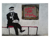 Smash The System Plakater av  Banksy