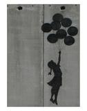 Balloon girl Poster par  Banksy