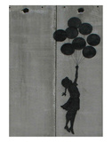 Balloon girl Poster av  Banksy