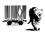 Barcode Prints by  Banksy