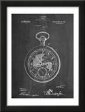 Pocket Watch Patent Prints