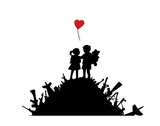 Love Prints by  Banksy