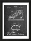 Hockey Shoe Patent Pôsters