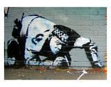 Polizist Kunstdruck von  Banksy
