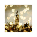 I Love NY I Impressão giclée por Kate Carrigan
