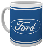 Logotipo de Ford Taza