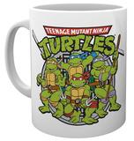 Teenage Mutant Nnja Turtles Retro Mug Becher