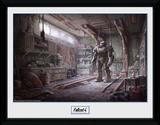 Fallout Red Rocket Interior Stampa del collezionista