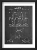 Brewing Beer Patent Poster