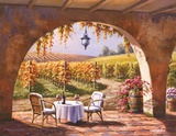 Vineyard for Two Art by Sung Kim