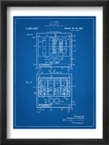 Bread Toaster Patent Posters