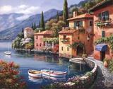Villagio Dal Lago Posters av Sung Kim