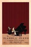 Le Pianola Plakater af Susan W. Berman