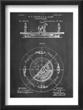 Merry Go Round Patent Affiches