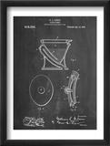 Water Closet Patent Poster