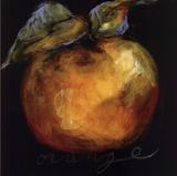 Appelsin Posters af Nicole Etienne
