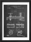 Vintage Beer Tap Patent Kunst
