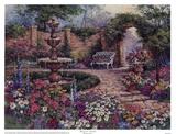 Giardino tranquillo Stampe di Barbara Mock