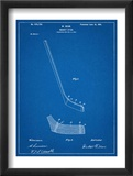 Hockey Stick Patent Print