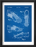 Soccer Shoes Patent Affiches