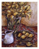 Lemons And Lilies Plakater af Nicole Etienne