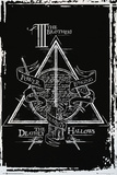 Harry Potter- Deathly Hallows Diagram Plakater