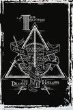 Harry Potter- Deathly Hallows Diagram Poster von WORLDWIDE