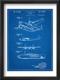 Howard Hughes Airplane Patent Prints
