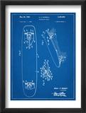 Vintage Skateboard Patent Prints