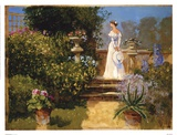 Secluded Garden Prints by John Haskins