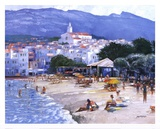 Along The Costa Brava Prints by Howard Behrens