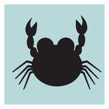 Crab Cutout Posters par Melody Hogan