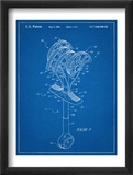Climbing Cam, Omega Pacific Link Cam Patent Poster