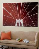 Brooklyn Bridge, New York Kunstdruck von Philippe Sainte-Laudy