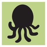 Octopus Cutout Affiches par Melody Hogan