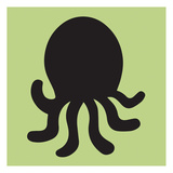 Octopus Cutout Posters by Melody Hogan