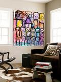 One Big Family Poster af Poul Pava