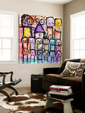 One Big Family Prints by Poul Pava