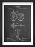First Bicycle Patent Plakat