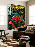 Marvel Comics Retro: The Amazing Spider-Man Comic Book Cover No.100, 100th Anniversary Issue Kunst