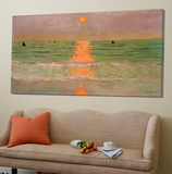 Sunset Kunst van Félix Vallotton
