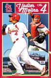 St. Louis Cardinals- Yadier Molina No. 4 Posters